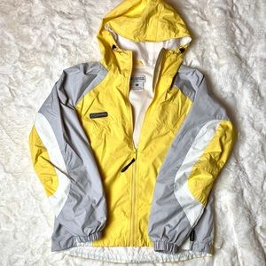 Yellow Columbia Sports Jacket